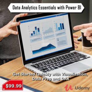Data analytics essential with power bi by ahmed oyelowo