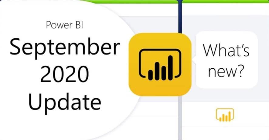 Power BI September 2020 Update