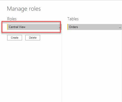 Changing Role Name in Power BI RLS